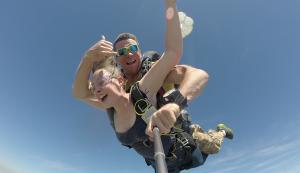 Le parachutisme à Albi